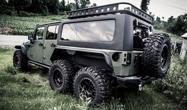 6-Wheel Patton Jeep Tomahawk (12 Photos) | Jeeps, Wheels and Vehicle