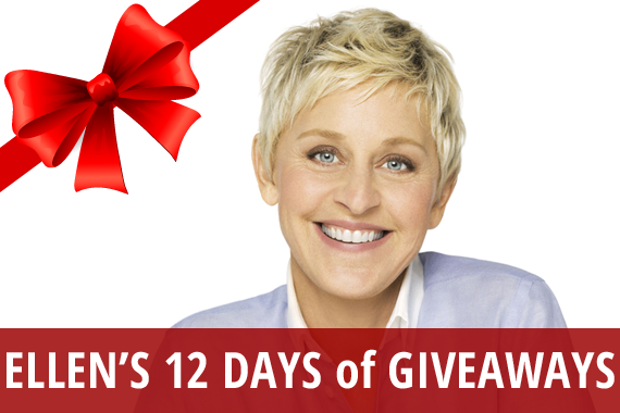 How much does ellen spend on 12 days of giveaways