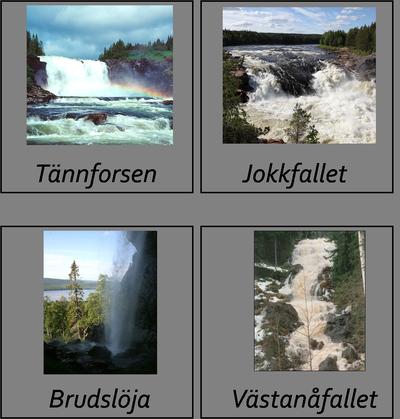 Svenska vattenfall -beställning