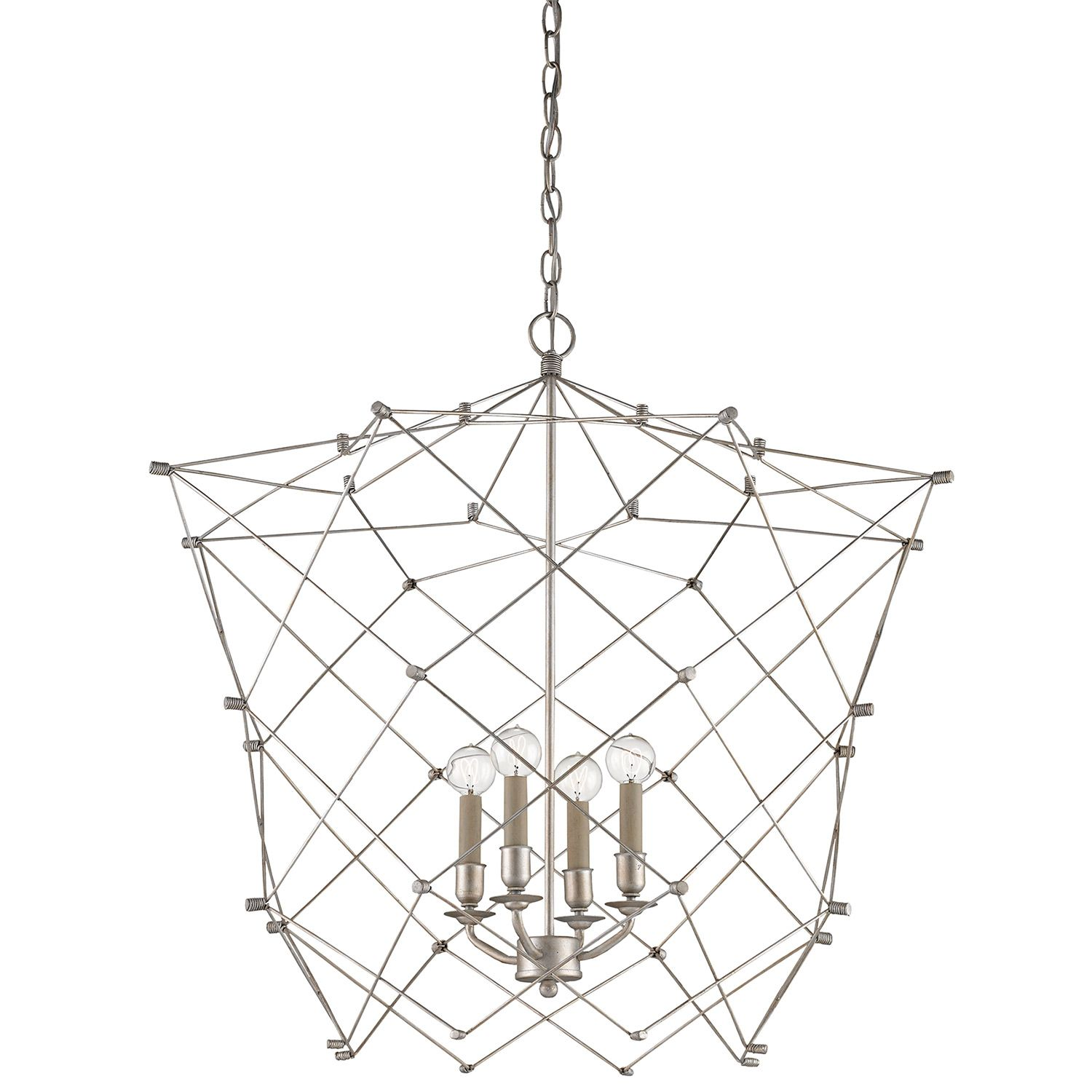 Illuminating through a geometric cage inspired design the currey illuminating through a geometric cage inspired design the currey company twineham chandelier proves arubaitofo Image collections