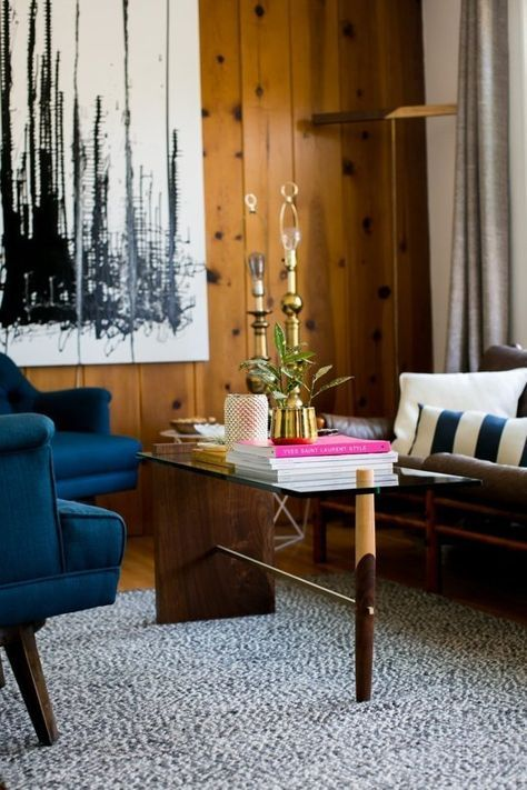 Knotty Pine Rooms: Painting Wood Paneling Living Room Knotty Pine 22 Trendy