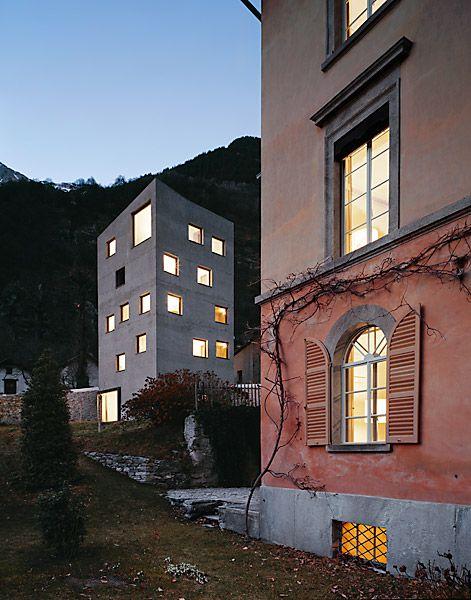 Miller & Maranta . villa Garbald, Castasegna, 2004