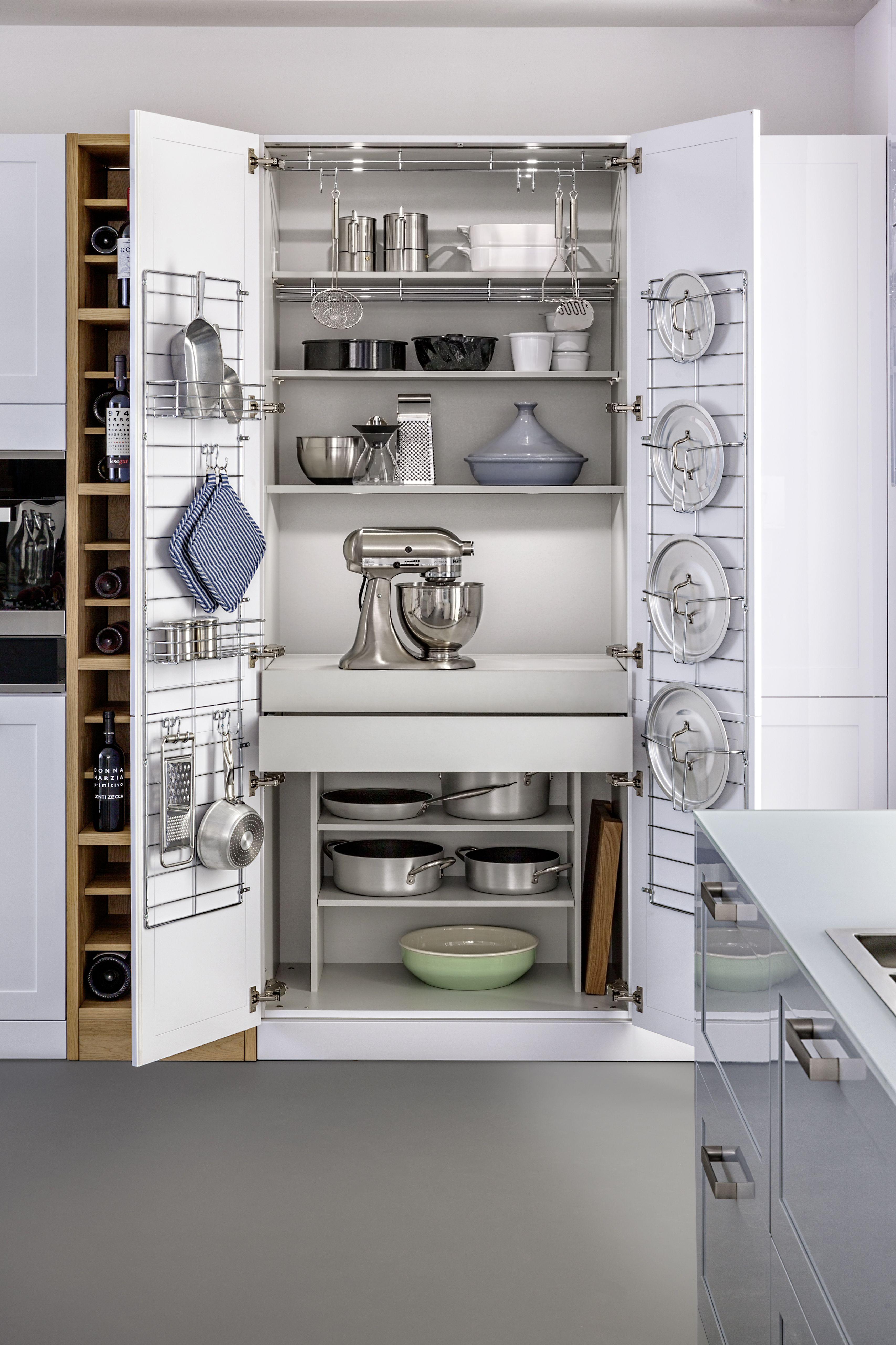 Charmant Genialer Küchenschrank, Ordnung, Idee, Bild, Schrank, Pfannen,  Ausziehschrank Foto: