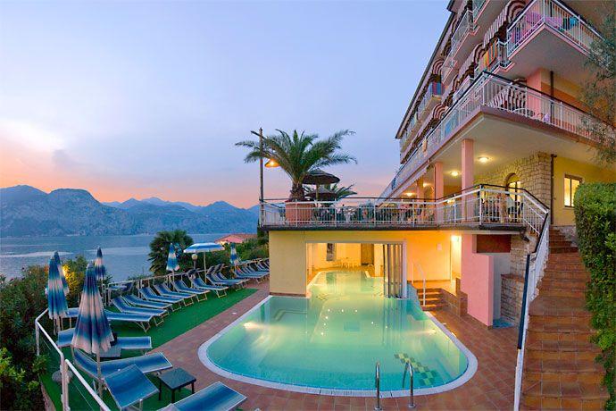 Hotel Eden - Brenzone ... Garda Lake, Lago di Garda, Gardasee, Lake Garda, Lac de Garde ...