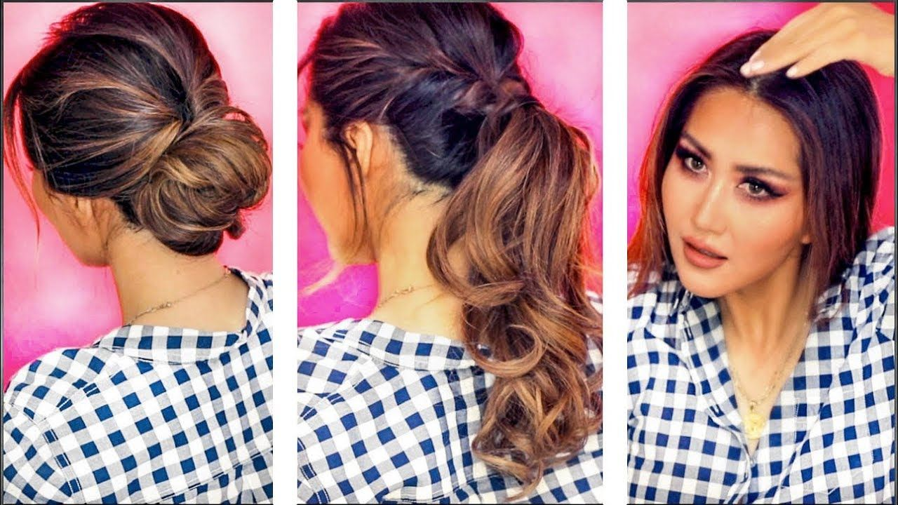 2 Min Everyday Hairstyles For Work Hair Stuff Tested Updos