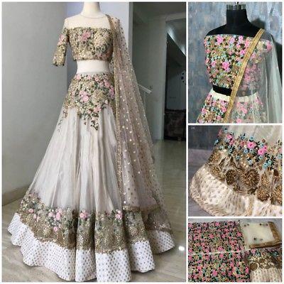 0c5c9f4ba0 Actual Pic Lengha Choli Indian Party Wear Lehenga Lengha Choli Pakistani  Sari 00 | eBay Lengha