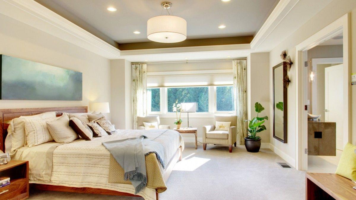 Master bedroom gypsum ceiling  Chambre  Chambres adultes u Salles de bains  Pinterest