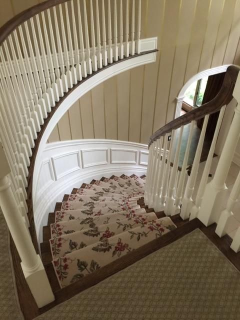 Best Floral Spiral Stair Runner Stair Runner Stairs Spiral 640 x 480