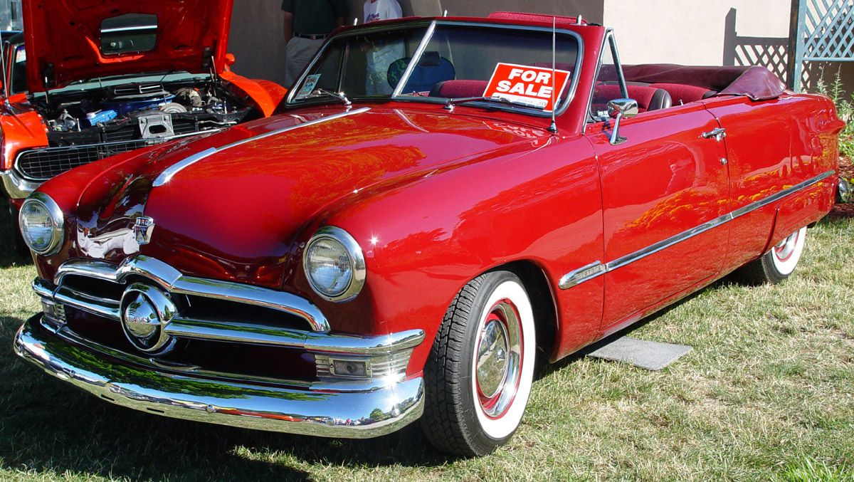 1951 ford custom convertible shoebox classic cars pinterest convertible ford. Black Bedroom Furniture Sets. Home Design Ideas