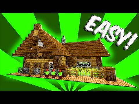 Minecraft How To Build A Small Survival Starter House Tutorial