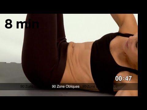 Lindsay Brin's Postnatal Slimdown Core #2 - YouTube