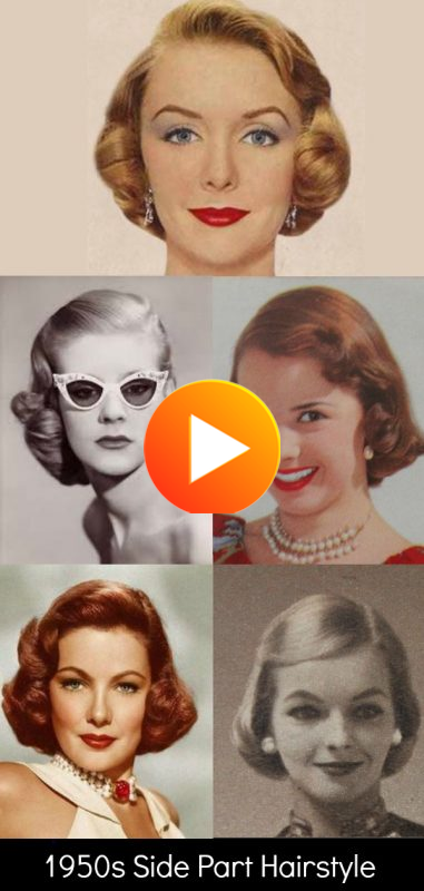 1950s Hairstyles 50s Hairstyles From Short To Long In 2020 1950s Hairstyles 50s Hairstyles Hair Styles