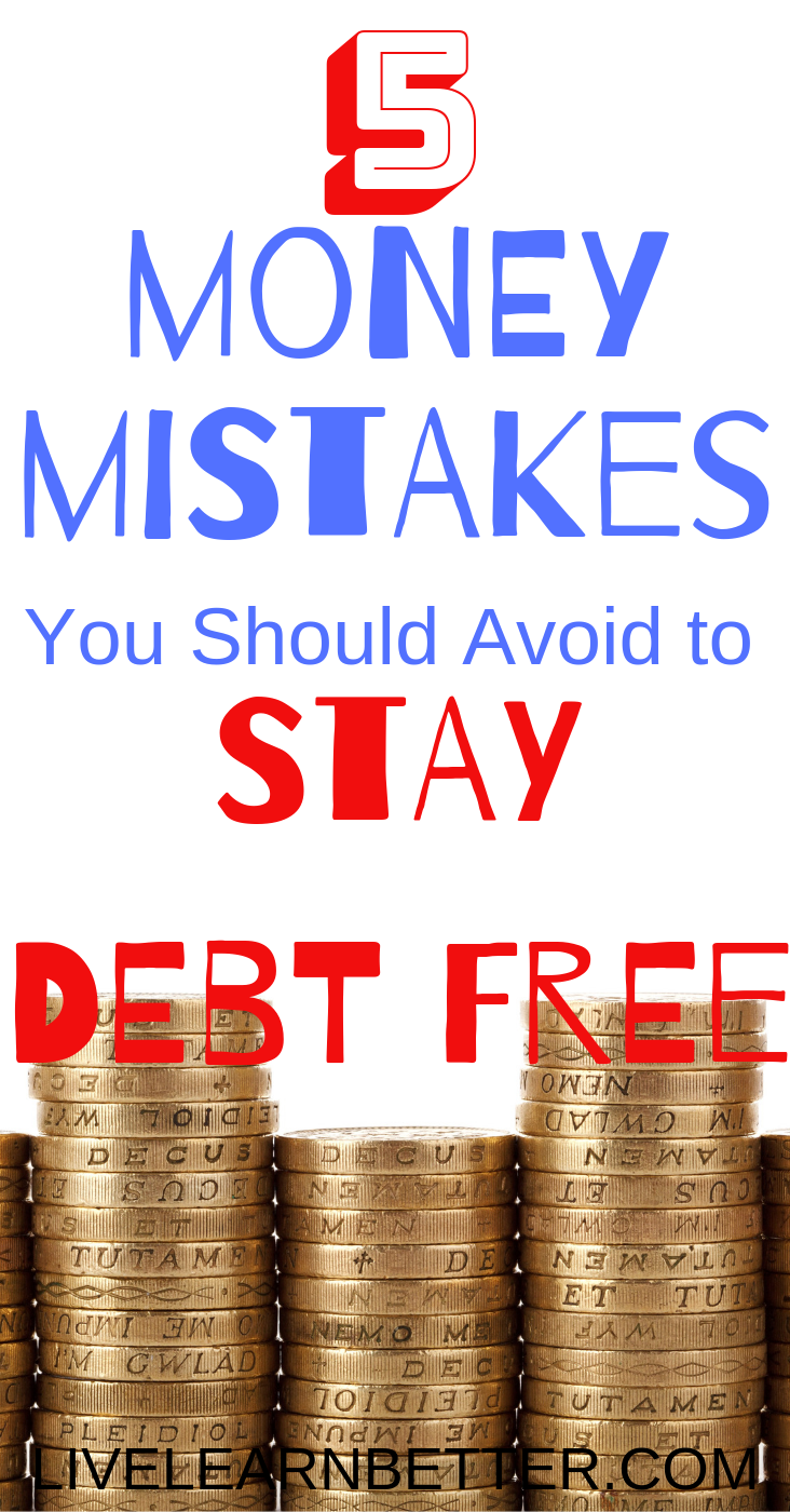 YOU CAN AVOID DEBT NOW
