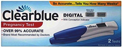 Clearblue Digital Pregnancy test with Weeks Indicator – 2