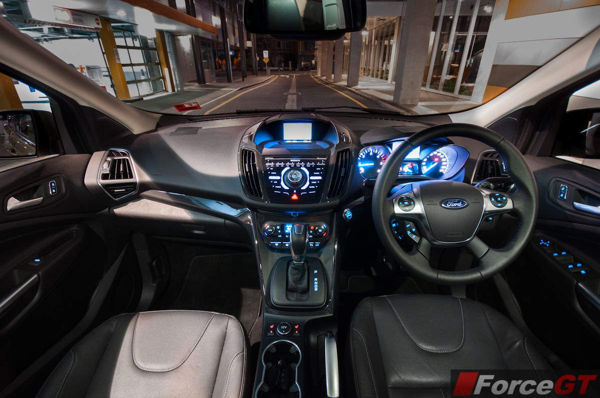 Night Interior Ford Escape