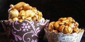 تقديم الشيف داليا سالم أكواب الفشار والمكسرات بالكراميل تسلية سهلة و لذيذة في Food Recipes Breakfast
