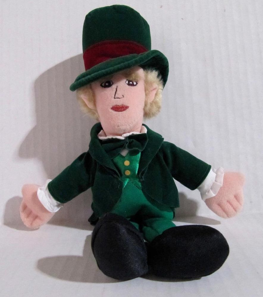 The Wizard from the Wizard of Oz Doll Plush Stuffed 11.5 in. tall Warner Bros. #WarnerBros #WizardofOz at JustLuvTreasures.com