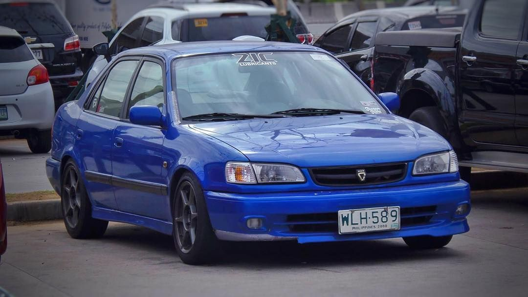 Rookie On Instagram Lovelife Lovelife Fresh Wasari Spotted Corolla Blue Race Racing Stane Stancenation Jdm Jdmu Toyota Corolla Corolla Toyota