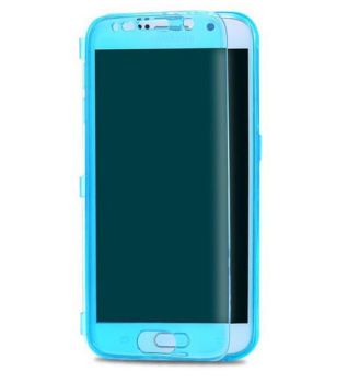 Samsung S6 Phone Case - Flip Style - Ultra Thin TPU Gel Silicone