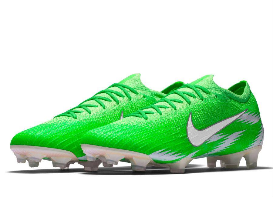 new arrival b4722 3b865  football  soccer  futbol  NaijaAllTheWay  Nigeria  nikefootball Nike  Mercurial Vapor 360 Elite FG Naija Premium iD - Green Strike   White