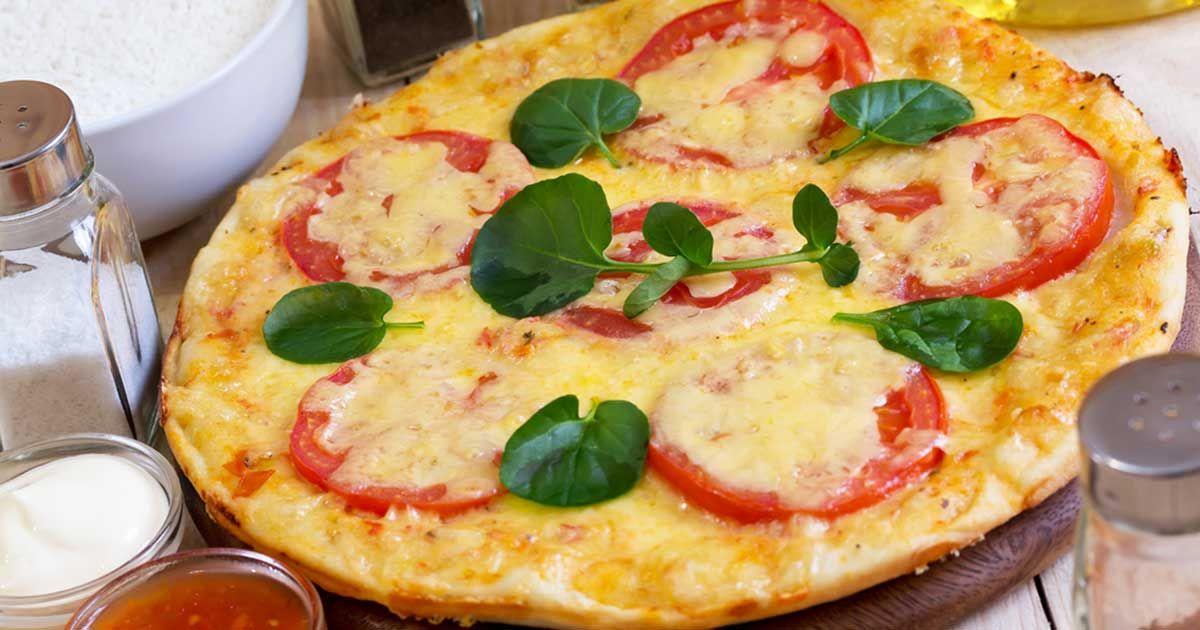 طريقة البيتزا الكذابة Recipe Food Vegetable Pizza Vegetables