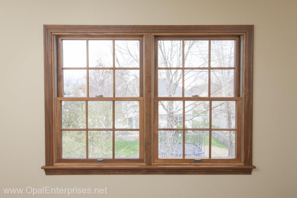 The Perfect Match With Custom Stained Andersen Windows Naperville Window Replacement Exterior House Renovation Windows Andersen Windows
