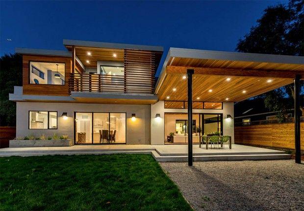 สร างบ านสองช น แบ งเน อท แต ละส วนได โปร งสบาย บ านไอเด ย แบบบ าน ตกแต งบ าน เว บไซต เพ อบ านค ณ Moderne Hauser Haus Architektur