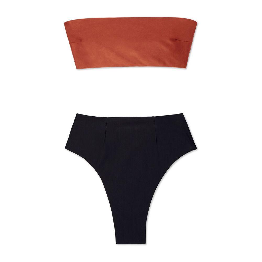 3d89d1d6106 Marcella Two-Tone Bikini in 2019   style   Bikinis, Swimwear ...
