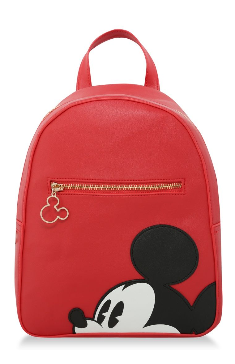 f77a517af Primark - Red Mickey Mouse Face Backpack | Ropa Tmblr in 2019 | Cute ...