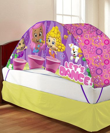 Love This Bubble Guppies Bed Tent Pushlight On Zulily Zulilyfinds Bed Tent Crib Tent Kids Room Design