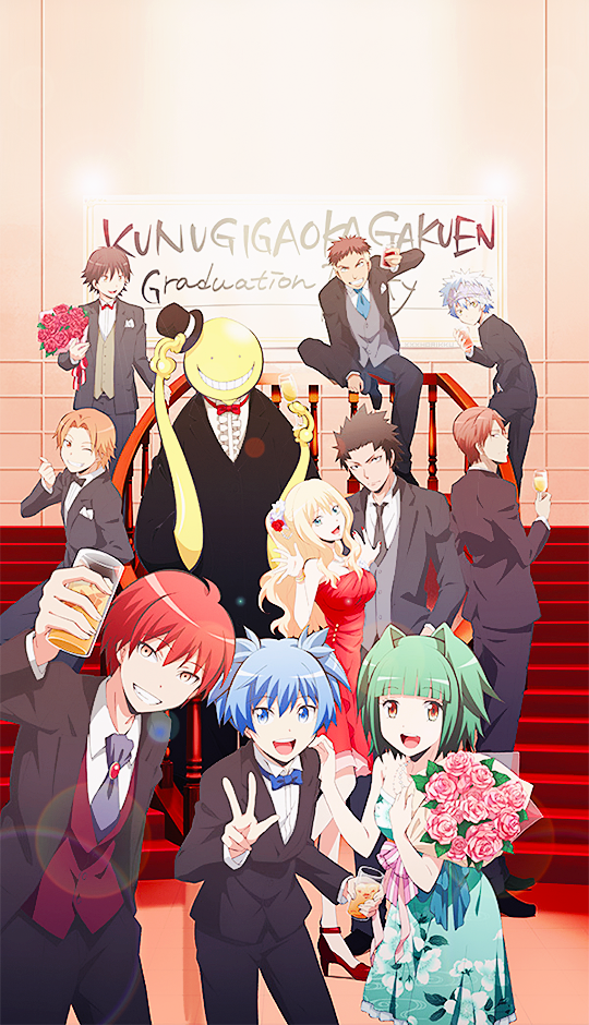 To everyone who has watched Assassination Classroom, you