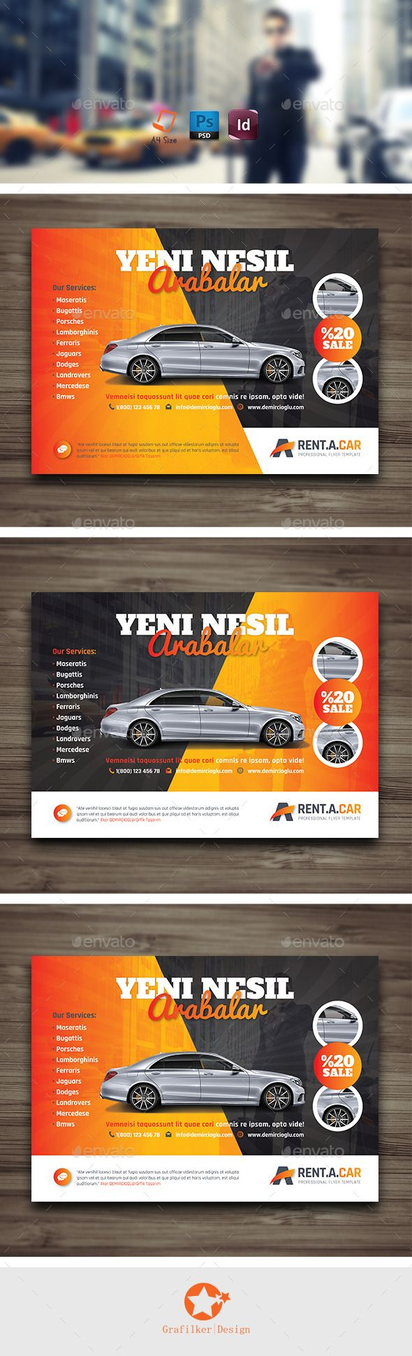 rent a car flyer templates flyer template template and renting