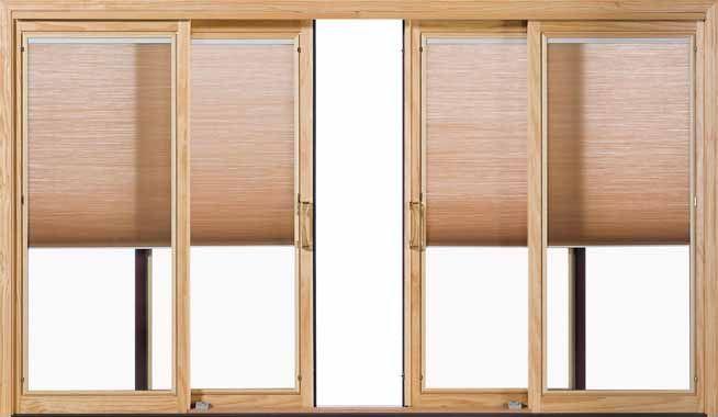 Pella Designer Series Aluminum Clad Wood Sliding Patio