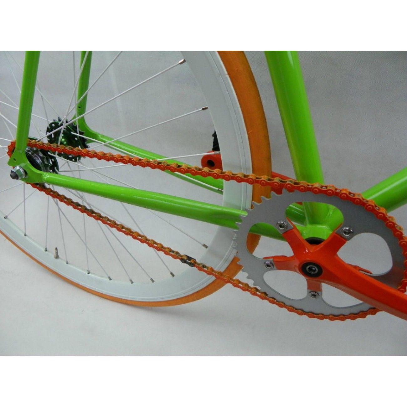 Greenorange single speed fixed gear track bike track