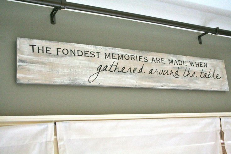 Above The Kitchen Cabinets So Truethe Importance Of Eating Together As A Family Or Community Goes Back Centuries