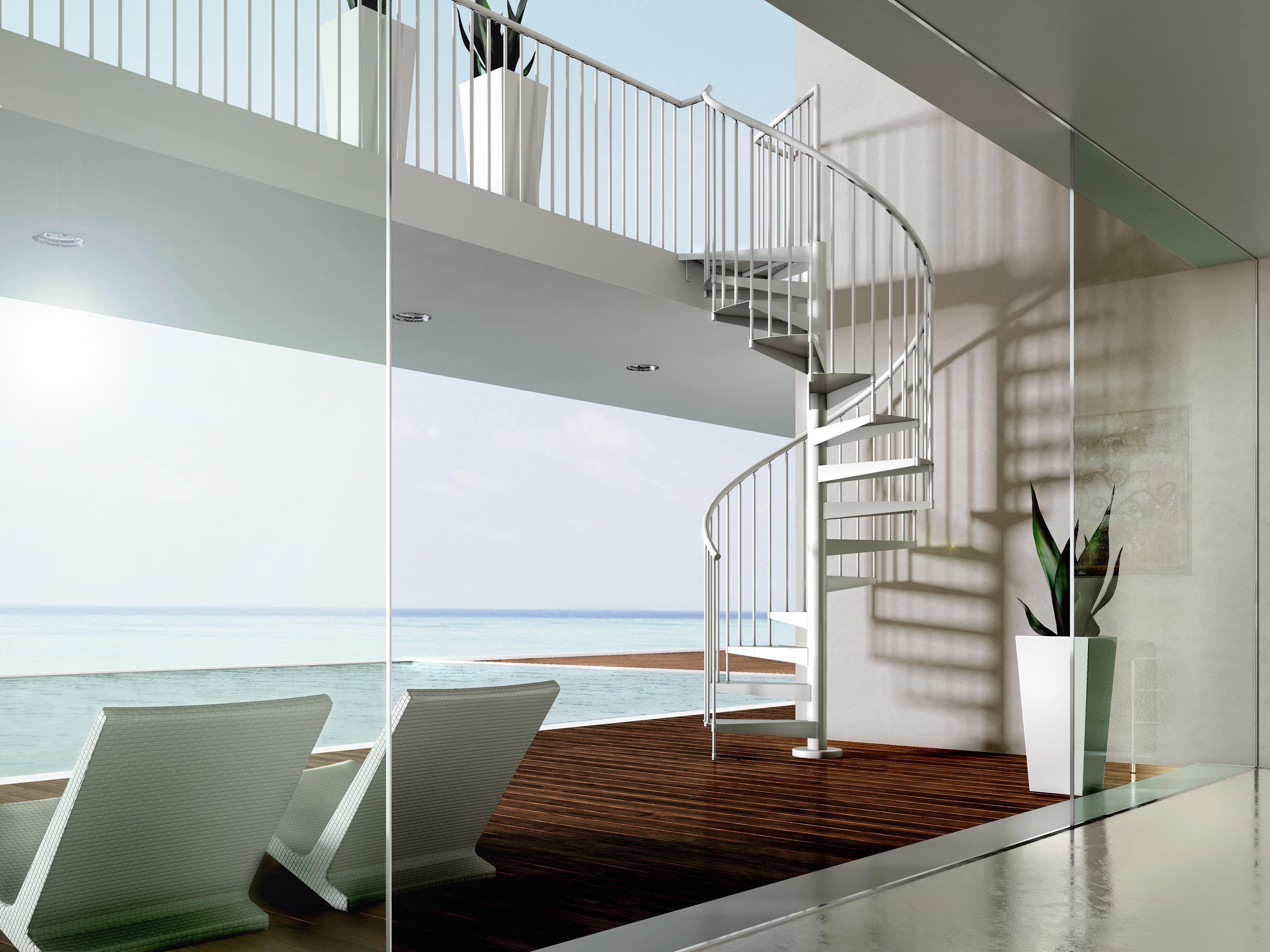 Ventajas De Las Escaleras De Caracol Tanto De Madera Como  ~ Escaleras Prefabricadas De Madera