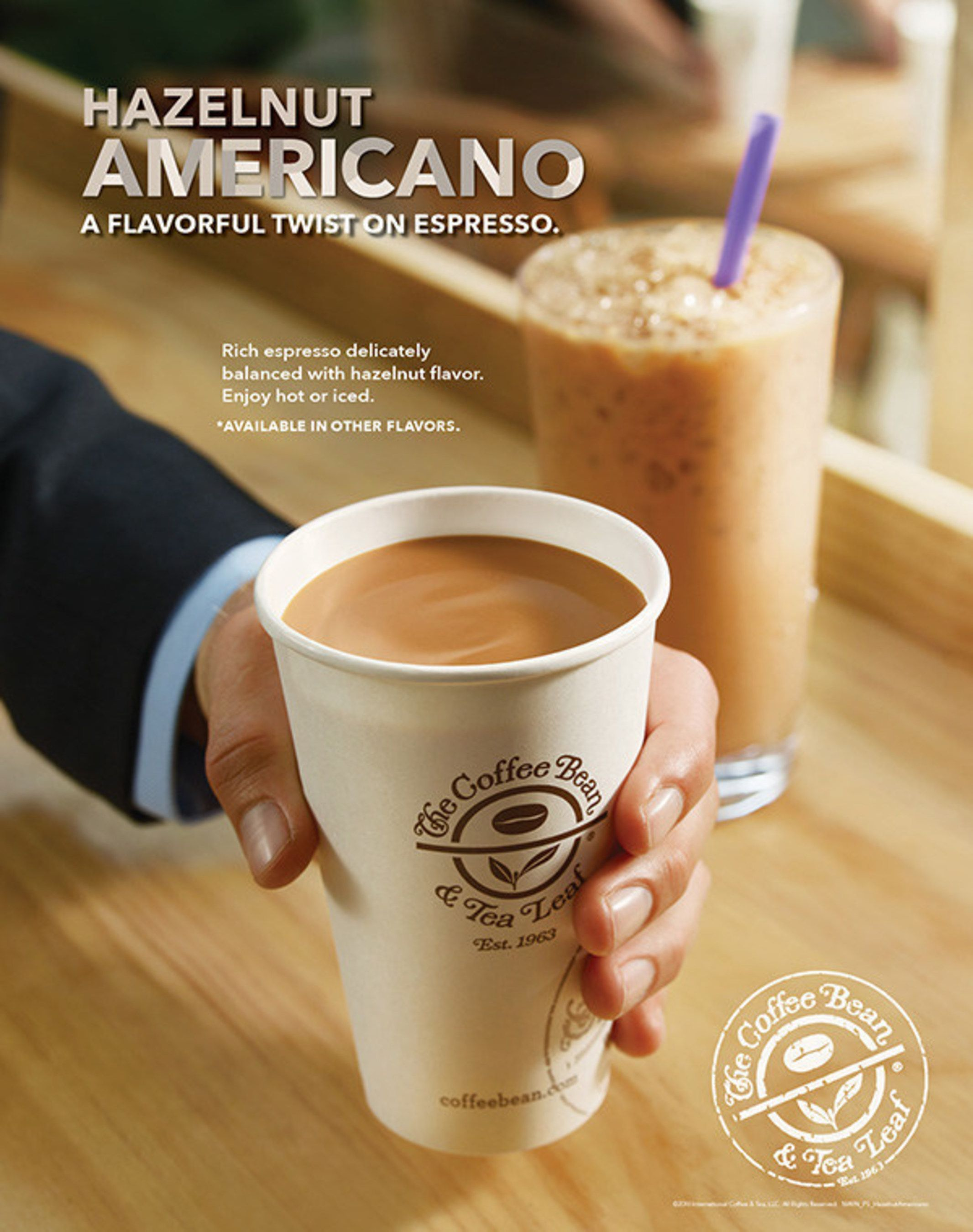 Coffee Bean And Tea Leaf Latte Caffeine Content In 2020 Healthy Iced Coffee Coffee Recipes Chocolate Coffee Beans