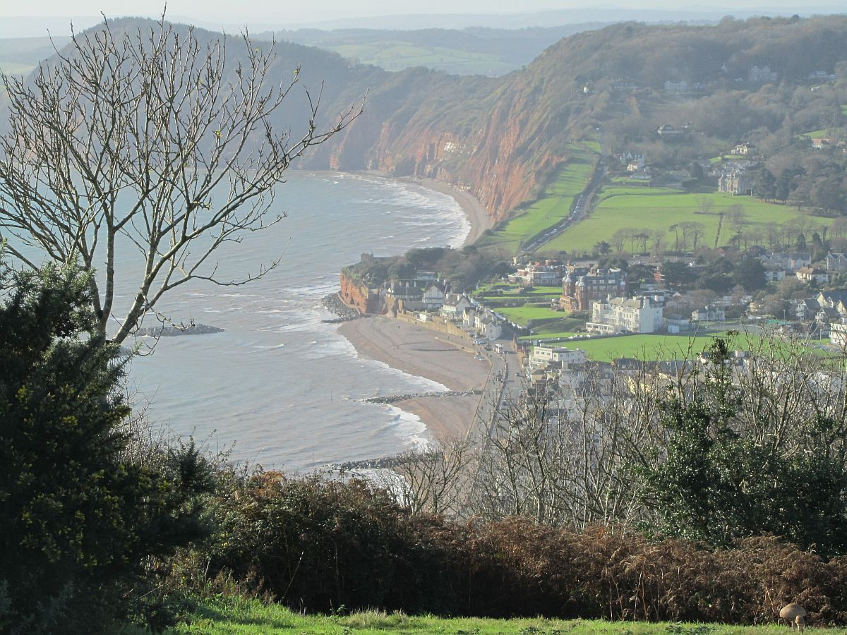 Sidmouth, Devon - home to the finest Folk Music festivals of the 1960s/70s. PDL Dec 2015