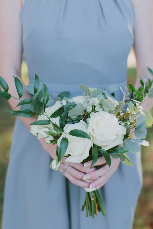 Fall Countryside Poplar Springs Wedding - United With Love #bridesmaidbouquets