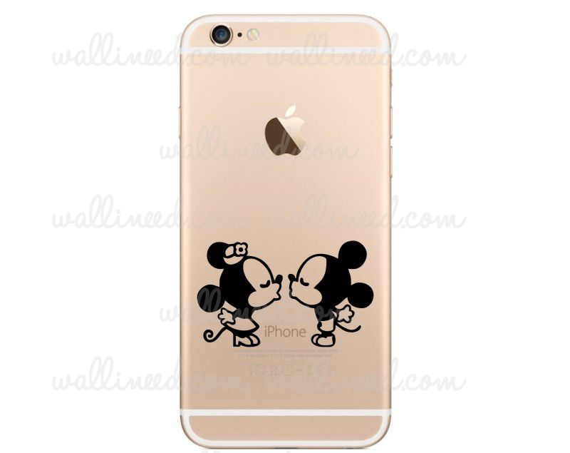 Stickers Mobili ~ Mickey mouse and minnie mouse iphone stickers iphone stickers