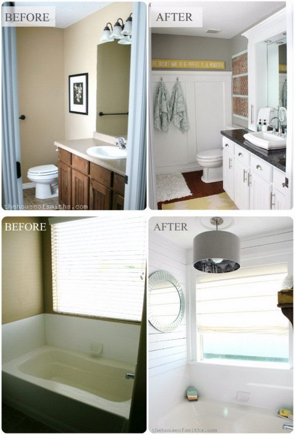 Bathroom Makeovers Before And After Golaria Com In 2020 Bathrooms Remodel Small Bathroom Remodel Small Bathroom Makeover