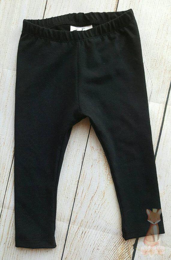 Classic black toddler and baby leggings https://www.etsy.com/listing/273684866/black-baby-leggings-black-toddler