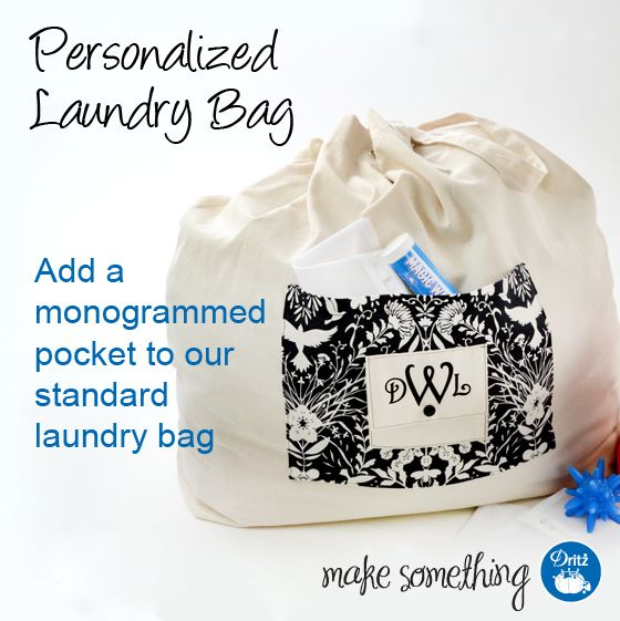 Sewing Tutorial Make A Personalized Laundry Bag Personalized