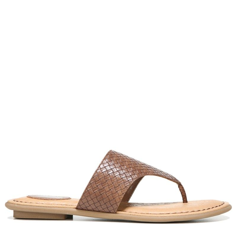 Dr. Scholl's Women's Resonate Memory Foam Sandals (Tan Woven) ...