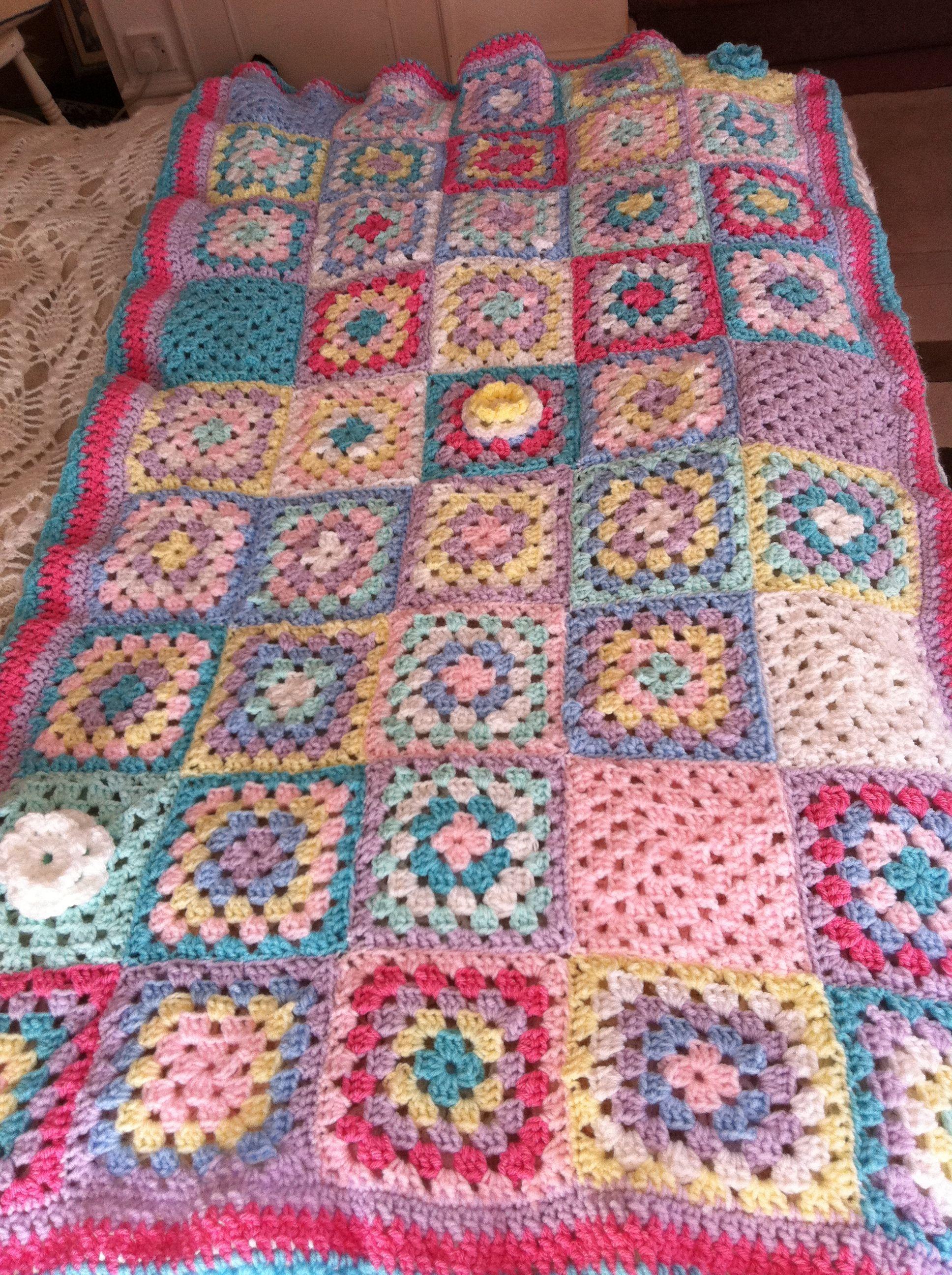 crochet blanket www.patchworkandlace.co.uk | Z_Crochet Decor 10 ...