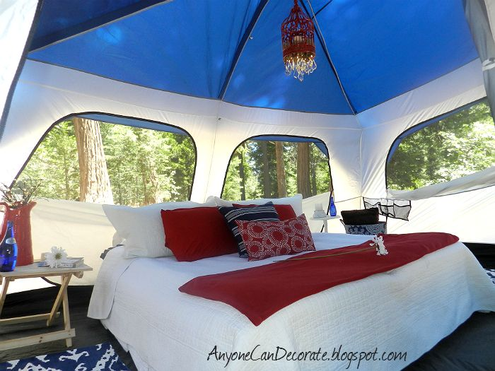 Ultimate inside camping tent decor glamping we will go for Glamping ideas diy