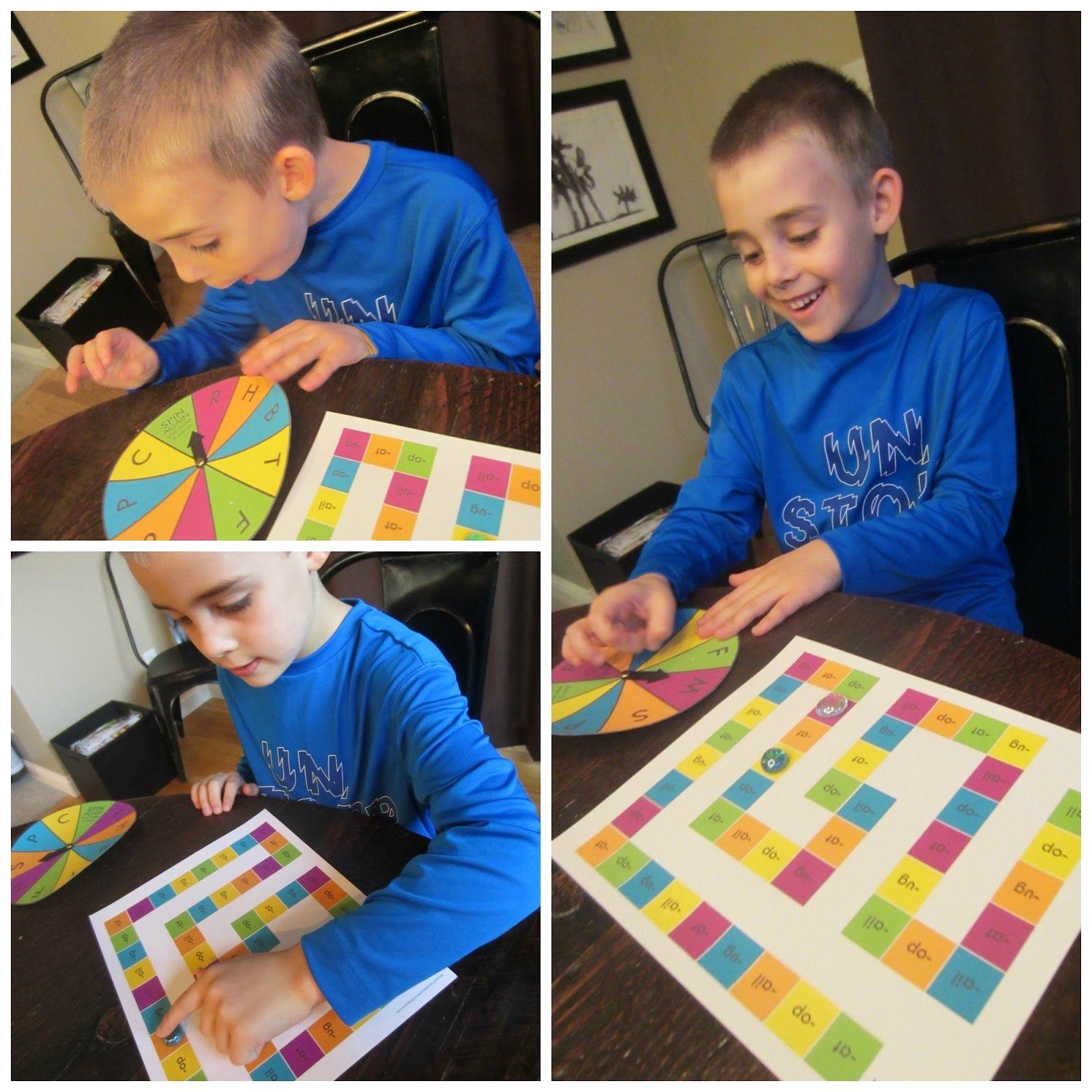 Word Family Board Game Free Printable At Ug Op