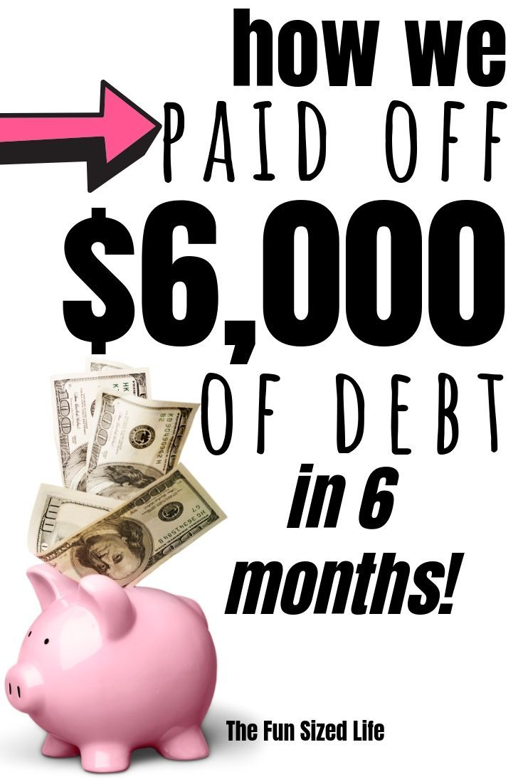 Debt Snowball Can Pay off $6,000 in 6 Months. Here's How ...