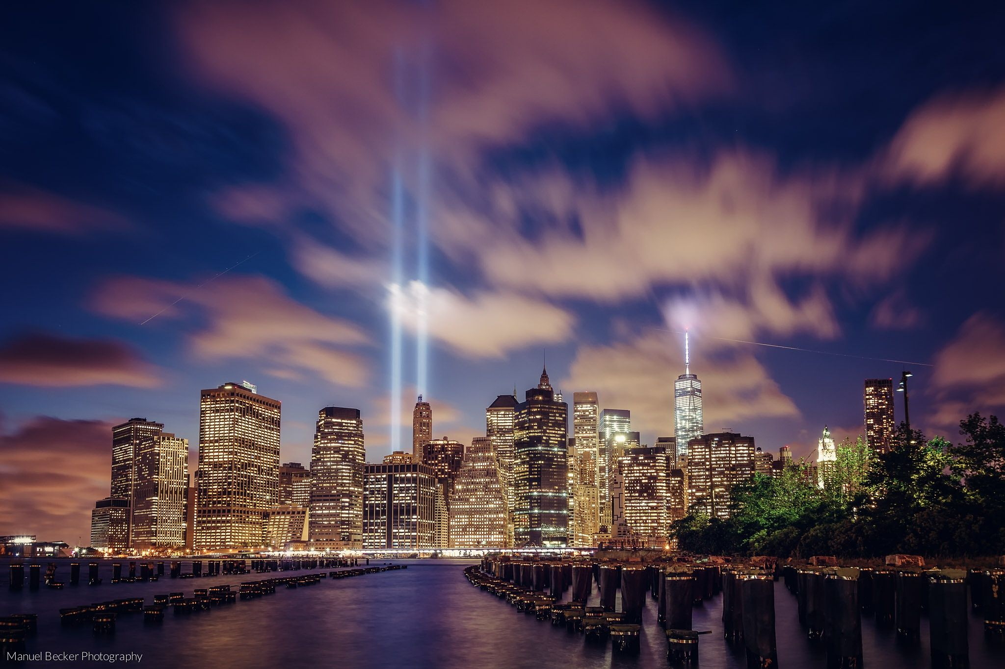 Tribute in Light, New York 2014 by Manuel Becker on 500px