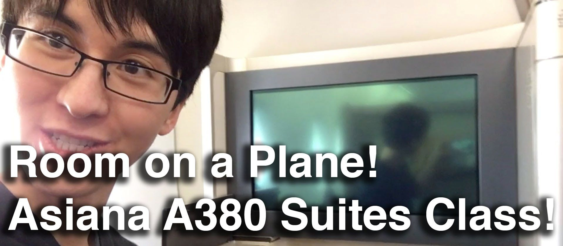 Asiana Airlines First Class Suites Class A380 New York